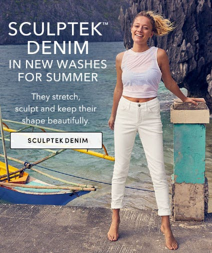 Your Go-To White Jeans from Athleta