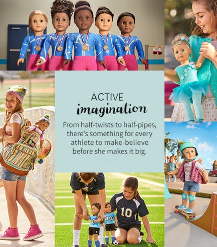 New For Girls On The Move from American Girl Place