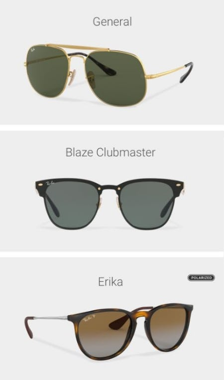 0629d44005 Iconic Ray-Ban Styles Revamped at sunglass hut