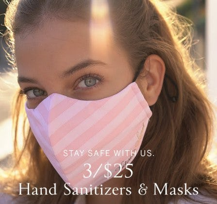 3 for $25 Hand Sanitizers and Masks