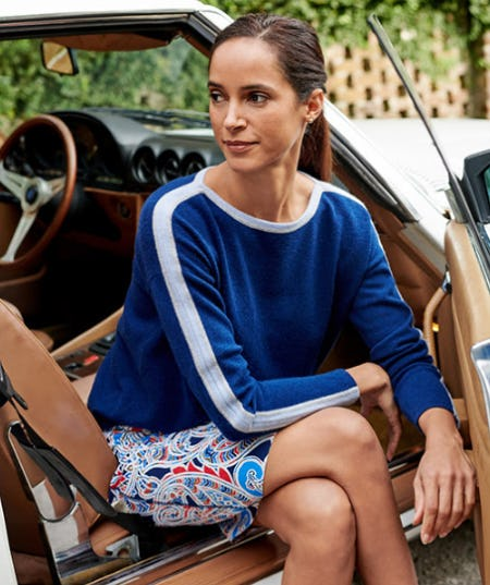 The Tray Sweater from J. Mclaughlin