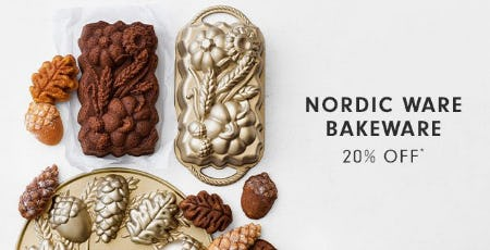 Nordic Ware Bakeware 20% Off from Williams-Sonoma