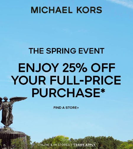 The Spring Event from Michael Kors