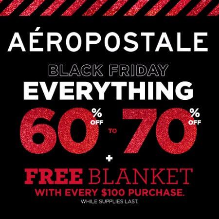 60%-70% Aeropostale Black Friday Sale!
