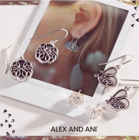 25% Off Earrings from ALEX AND ANI