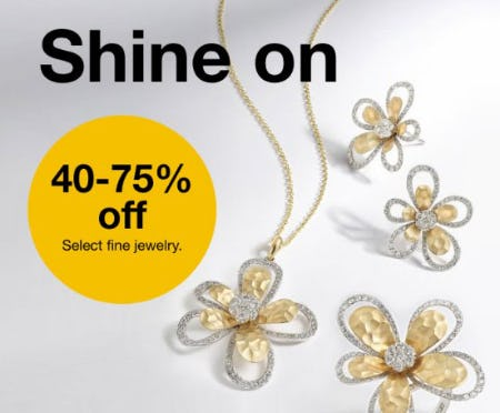 40-75% Off Select Fine Jewelry from macy's