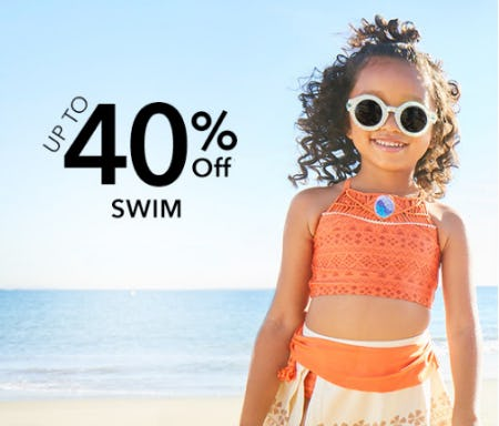 Up to 40% Off Swim from Disney Store
