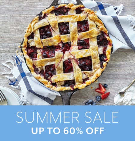 Summer Sale: Up to 60% Off from Sur La Table