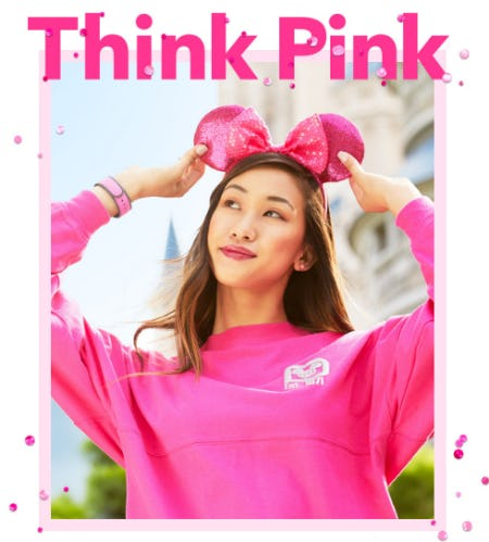 Our New Imagination Pink Collection from Disney Store