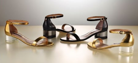 Clear Winners: New Lucite Heels
