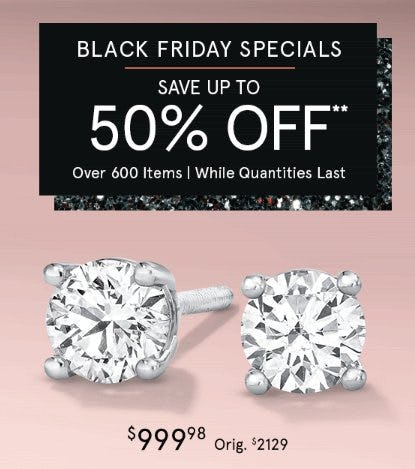 Black Friday Specials from Zales The Diamond Store