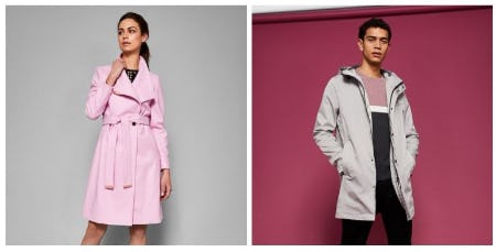 Freeze Frames: Men's & Women's Outerwear from Ted Baker London