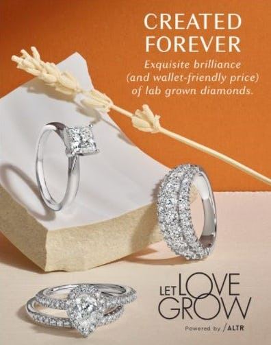 Created Forever: Lab-Grown Diamonds from Fred Meyer Jewelers