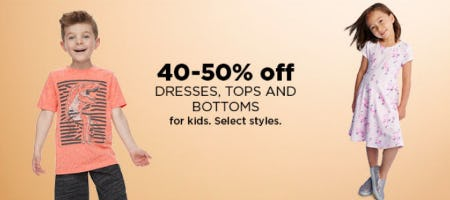 40-50% Off Dresses, Tops & Bottoms from Kohl's