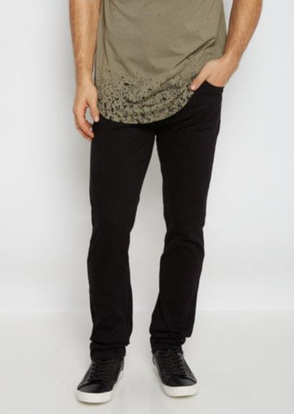 Flex Black Twill Skinny Pants from rue21