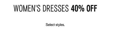 Women's Dresses 40% Off from Express