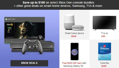 Save Up to $100 on Select Xbox One Console Bundles from Target