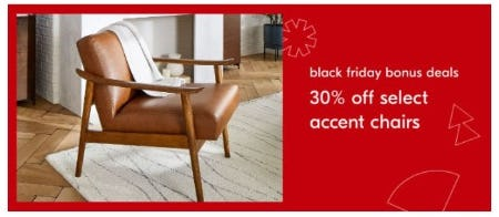 30% Off Select Accent Chairs from West Elm