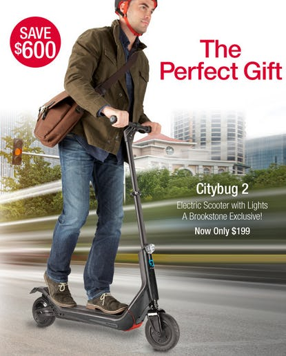 Save $600 on Citybug 2 Electric Scooter with Lights