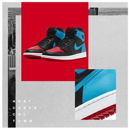 "The Legend Lives On: Air Jordan 1 OG ""NC to CHI"""