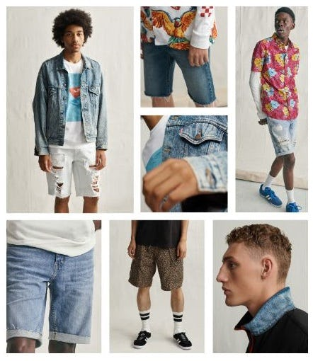 The Coolest Shorts Around from The Levi's Store
