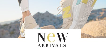 Shop Our New Arrivals from New Balance