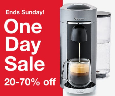One Day Sale: 20-70% Off from macy's