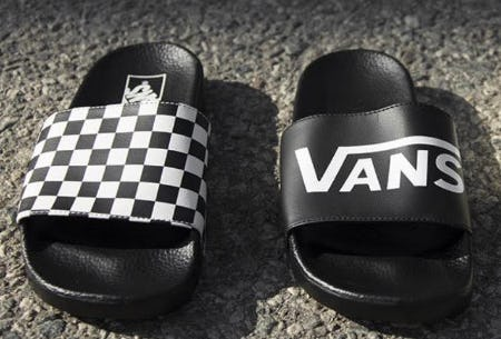 Vans Slide On Sandals from Journeys