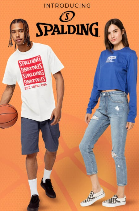Introducing New Spalding from Tillys