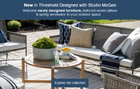 New In Threshold Designed with Studio McGee