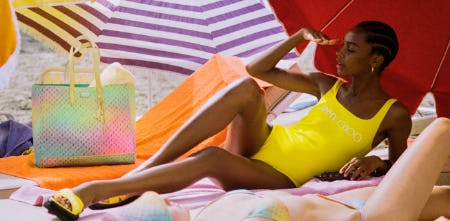 The Jimmy Choo Beach Collection from Jimmy Choo