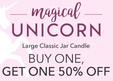 BOGO 50% Off Large Classic Jar Candle from Yankee Candle