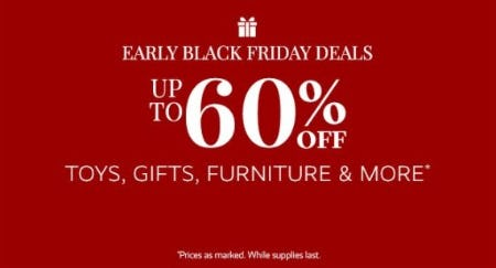 Up to 60% Off Toys, Gifts, Furniture & More from Pottery Barn Kids