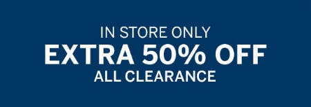Extra 50% Off Clearance from Dressbarn