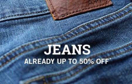 Jeans Already up to 50% Off