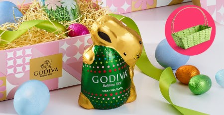Free Easter Basket from Godiva Chocolatier