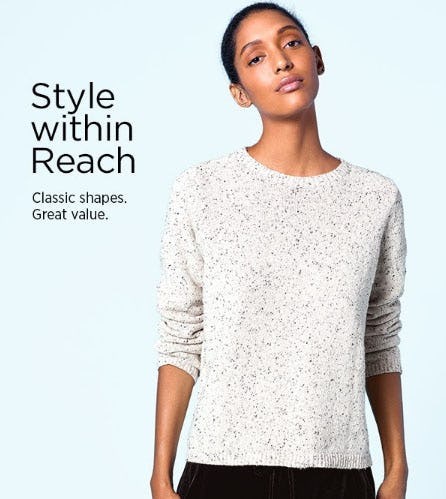 Style Within Reach from Eileen Fisher