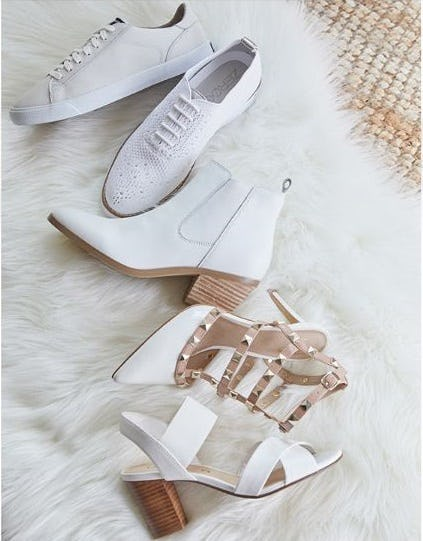 Winter Whites from DSW Shoes