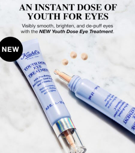 An Instant Dose of Youth for Eyes from Kiehl's