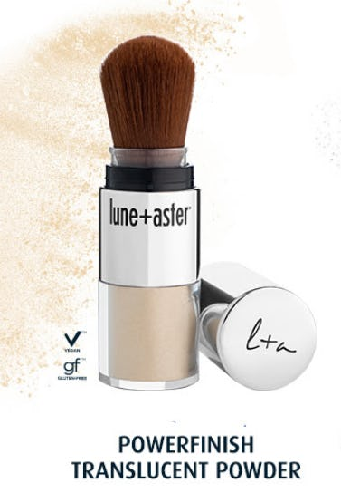 Lune + Aster PowerFinish Translucent Powder from Blue Mercury