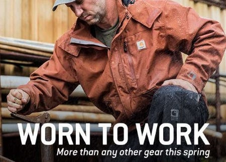 Workwear for the Toughest Men from Carhartt