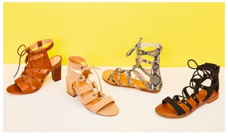 Gladiator Sandals for Roaming from DSW Shoes