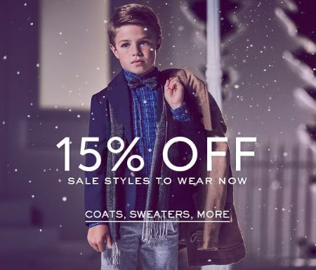 15% Off Sale Styles to Wear Now