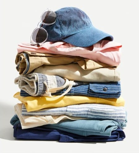 New Arrivals: The Peak Summer Stack from J.Crew Men's Shop