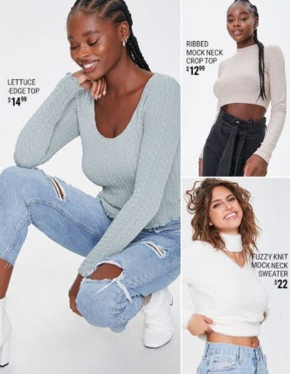 New Winter Faves from Forever 21