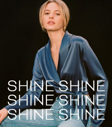 Slip Into Something Shiny from Aritzia