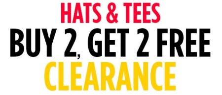 B2G2 Free Clearance Hats & Tees