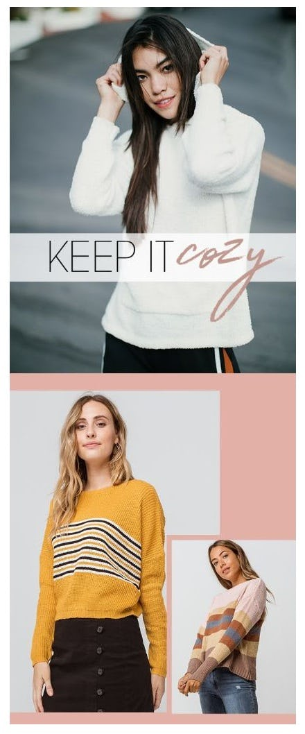 Keep It Cozy: Sweaters & Cardigans from Tillys