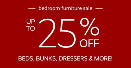 Bedroom Furniture Sale from Pottery Barn Kids