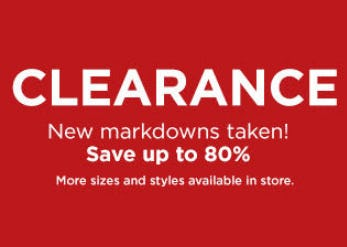 Save Up to 80% Clearance from Kohl's